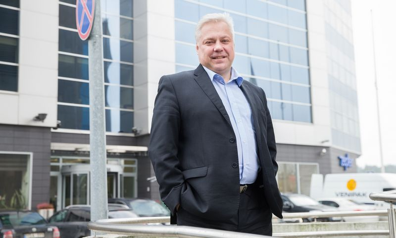 Algimantas Variakojis, investuotojas. Juditos Grigelytės (VŽ) nuotr.