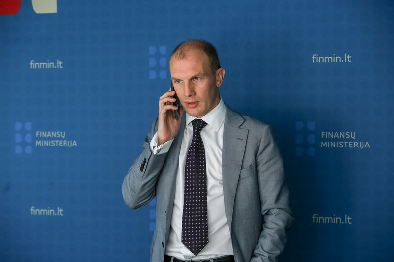 Darius Sadeckas, finansų viceministras. Vladimiro Ivanovo (VŽ) nuotr.