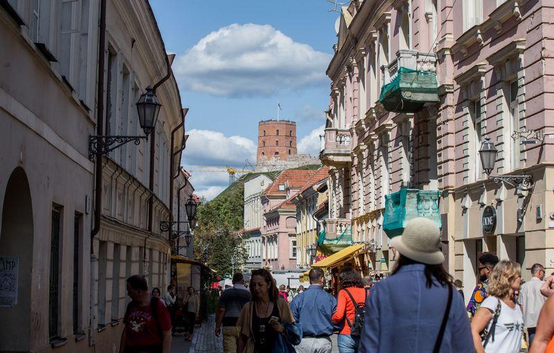 Didžiausias Vilniaus viešbučių kambarių užimtumas buvo birželio mėnesį ir siekė 76,3%. Juditos Grigelytės (VŽ) nuotr.