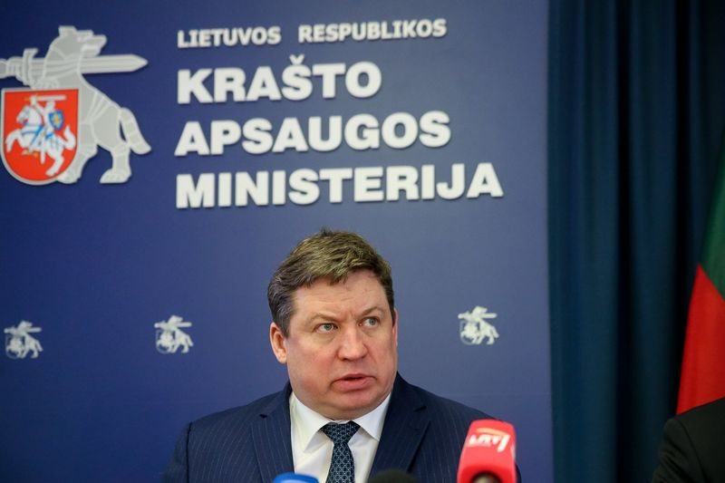Raimundas Karoblis, krašto apsaugos ministras. Vladimiro Ivanovo (VŽ) nuotr.