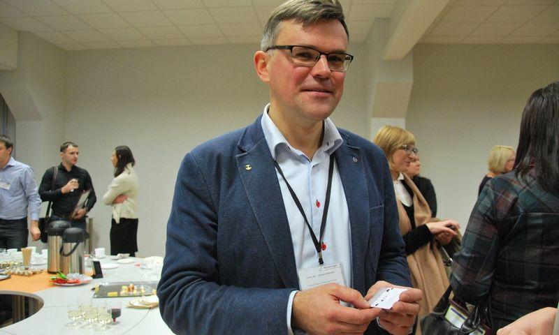 """Dainius Cibulskis, AB """"Nordic Sugar Kėdainiai"""" direktorius. Indrės Sesartės nuotr."""