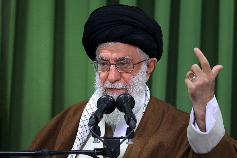 """Ali Khamenei. """"Sipa"""" / """"Scanpix"""" nuotr."""