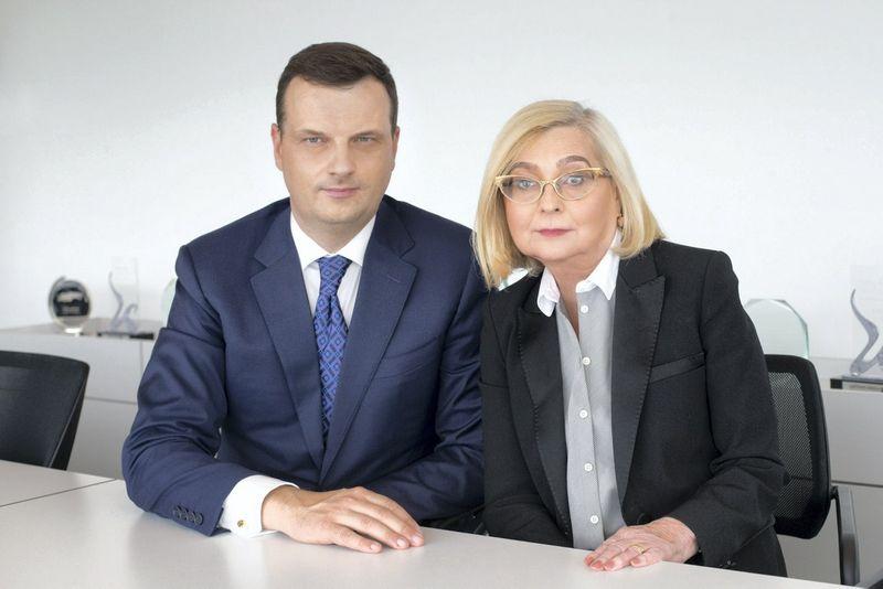 Vilius Bernatonis ir Eugenija Sutkienė. Bendrovės nuotr.