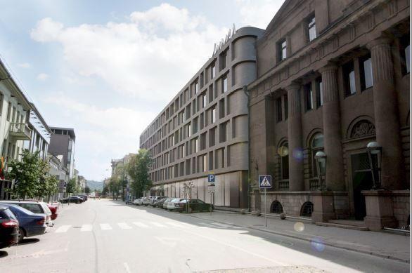 Kaune planuojamas 175 kambarių viešbutis