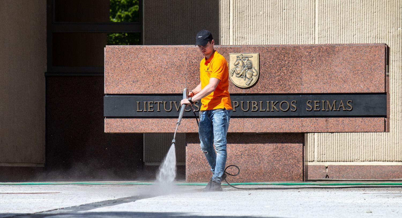 Kovos su mokesčių piktnaudžiavimu taisyklė – prie Seimo durų