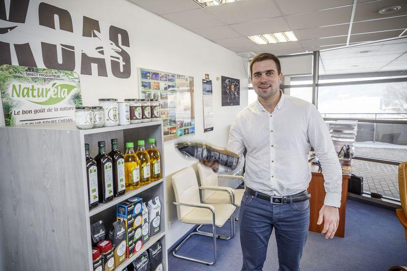 """Aurimas Bagdanavičius, UAB """"Foksas"""" direktorius: """"Lietuvoje plėstis jau nebėra kur. Apyvartą auginame todėl, kad prekiaujame ir gretimose šalyse."""" Vladimiro ivanovo (VŽ) nuotr."""