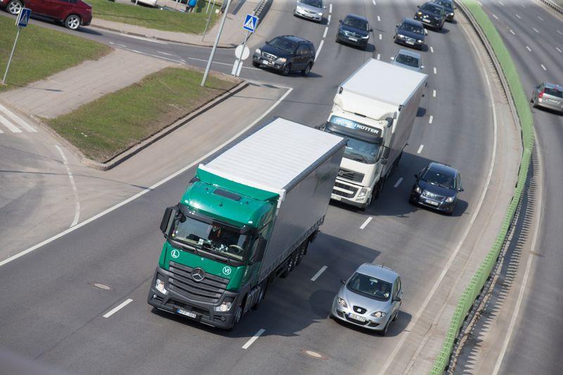 Lietuvos vežėjams atveriama daugiau galimybių vežti krovinius į Rusiją. Juditos Grigelytės (VŽ) nuotr.