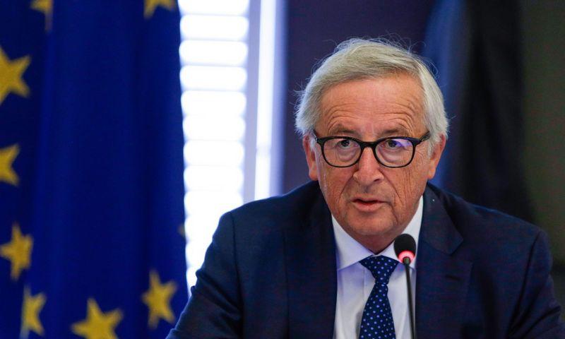 """Jeanas Claude'as Junckeris, Europos Komisijos pirmininkas. Aris Oikonomou (""""Reuters"""") nuotr."""