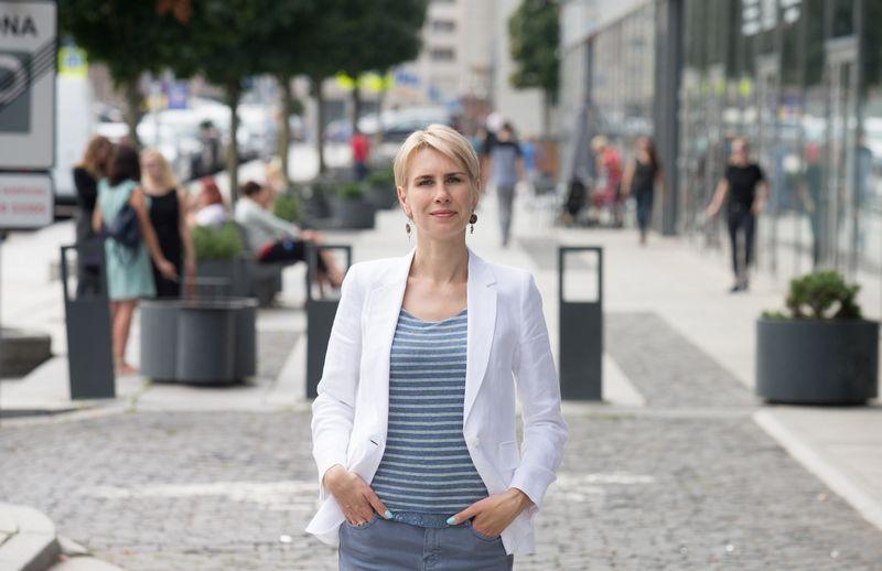 """Inga Romanovskienė, VšĮ """"Go Vilnius"""" vadovė, sako, kad darbas agentūroje jai yra iššūkis, bet labai įdomus iššūkis. Juditos Grigelytės nuotr."""
