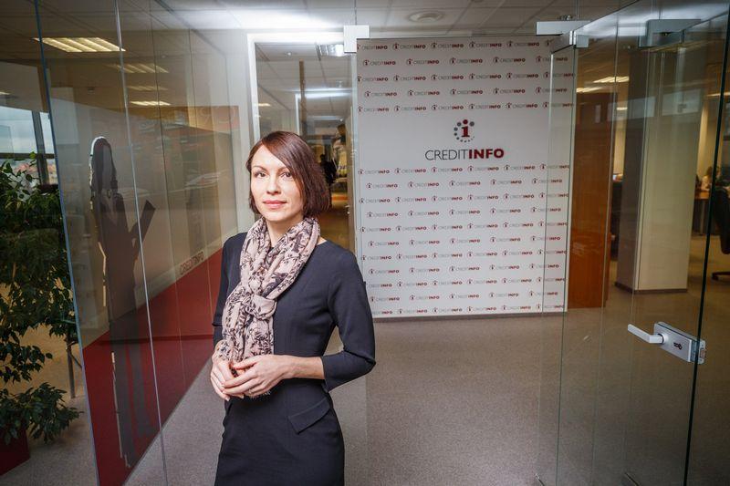 """Rasa Ruseckaitė, """"Creditinfo"""" kredito rizikos vertinimo vadovė. Vladimiro Ivanovo (VŽ) nuotr."""