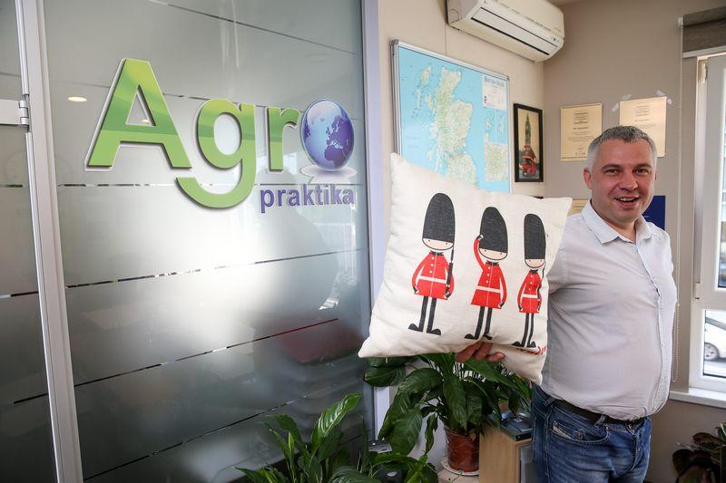 """Mantas Babelis, UAB """"Agropraktika"""" direktorius. Vladimiro Ivanovo (VŽ) nuotr."""