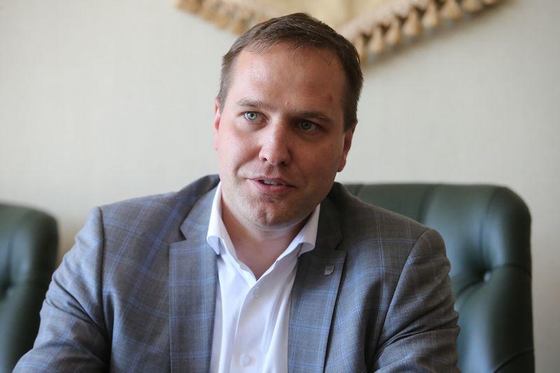 """Linas Sabaliauskas, UAB koncernas """"Achemos grupė"""" generalinis direktorius. Vladimiro Ivanovo (VŽ) nuotr."""