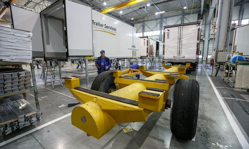 """Schmitz Cargobull Baltic"" gamykla Panevėžyje. Vladimiro Ivanovo (VŽ) nuotr."