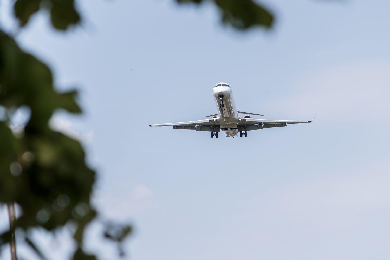 Lietuvos oro erdvėje rugpjūtį– 12% daugiau skrydžių