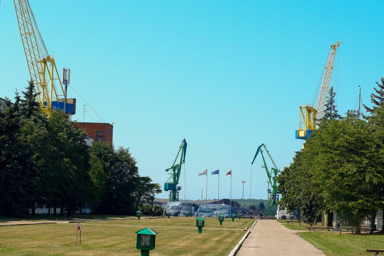 Ieško rangovų Klaipėdos konteinerių terminalo krantinei rekonstruoti