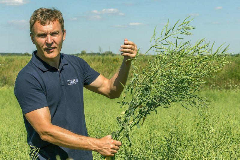 Ūkininkas Juozas Mikštas.