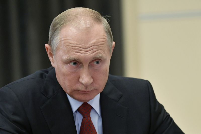 """Vladimiras Putinas, Rusijos prezidentas. Aleksejaus Nikolskio (""""Sputnik"""" / """"Scanpix"""") nuotr."""