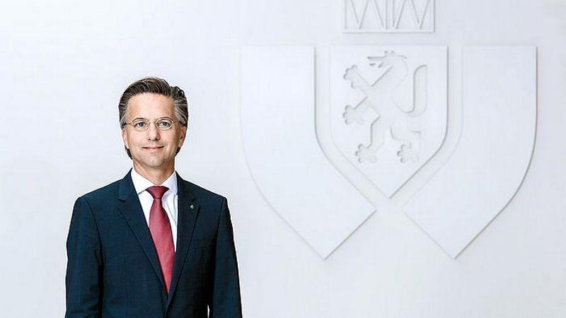 """Gernotas Reiteris, austrų kilmės draudimo kompanijos """"Grazer Wechelseitige Versicherung AG (GRAWE)"""" valdybos narys."""