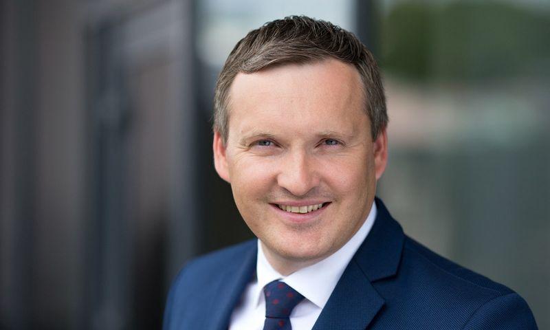 Vaidas Lazauskas, Šiaulių banko Kauno regiono ir filialo Verslo klientų direktorius, akcentuoja, kad pavojingu laikomas toks augimas, kai įmonės apyvarta į viršų kopia kur kas greičiau už savo sektoriaus vidurkį. Bendrovės nuotr.