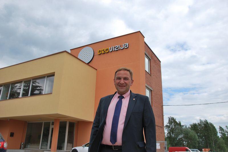 """Darius Augūnas, """"Geovizijos"""" direktorius. Vytauto Gaižausko nuotr."""