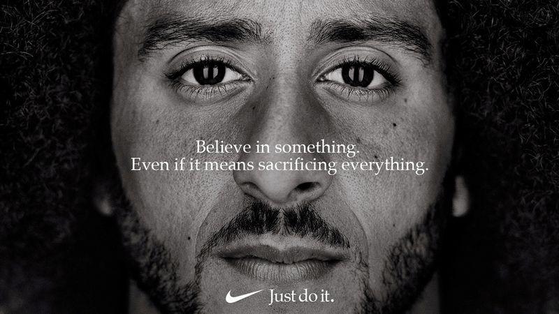 """Naujoji """"Nike"""" reklama. """"Reuters"""" / """"Scanpix"""" nuotr."""