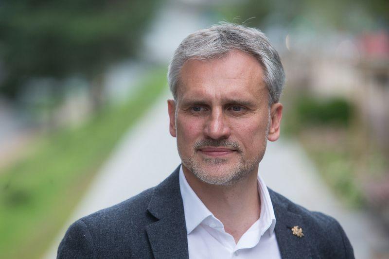 """Vytenis Labanauskas, AB """"K2 LT"""" direktorius. Vladimiro Ivanovo (VŽ) nuotr."""