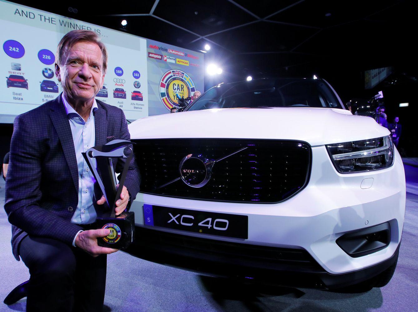 """Europos metų vadovas """"Volvo"""" prezidentas ir CEO Samuelssonas: dirbsiu, kol atleis"""