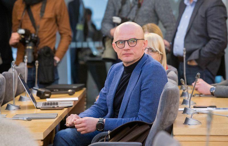 Žurnalistas Edmundas Jakilaitis. Juditos Grigelytės (VŽ) nuotr.