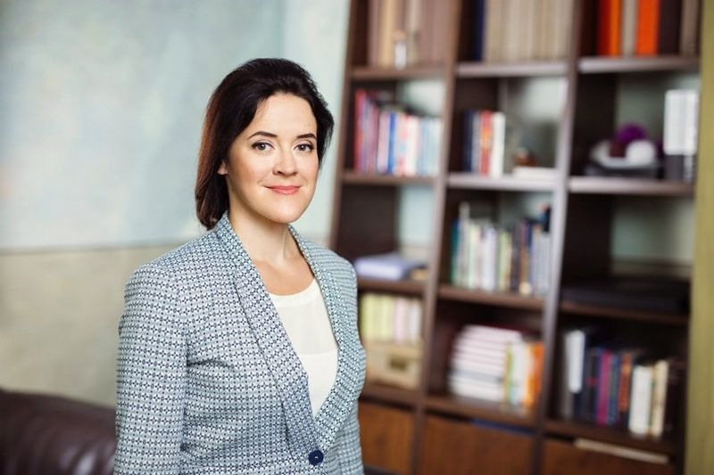 """Renate Strazdina, naujoji """"Microsoft"""" vadovė Baltijos šalims. Bendrovės nuotr."""