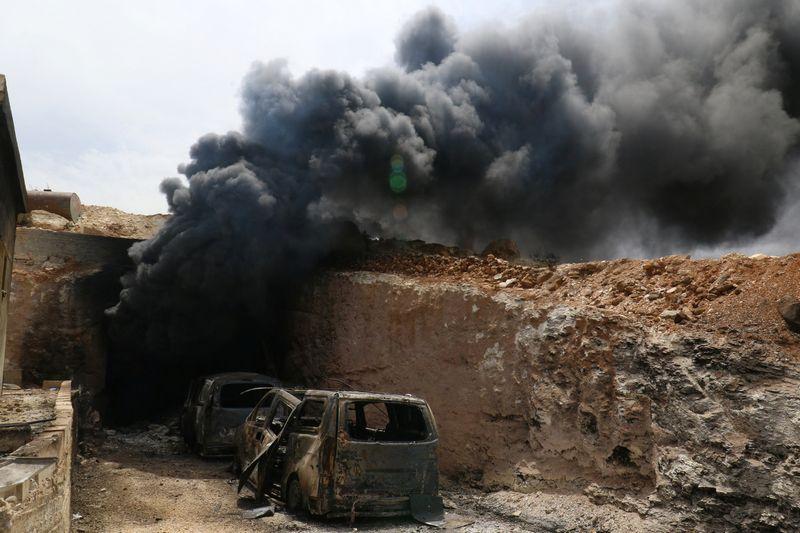 """Sirijos Idlibo provincija. Ammaro Abdullaho (""""Reuters"""" / """"Scanpix"""") nuotr."""