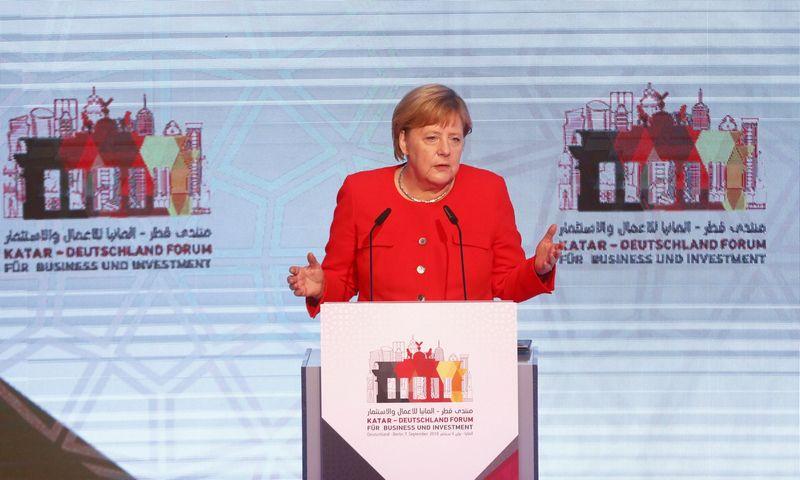 "Vokietijos kanclerė Angela Merkel. Michele Tantussi (""Reuters"" / ""Scanpix"") nuotr."