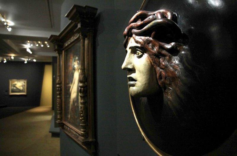 """Orsė muziejuje eksponuojami prancūzų menininkų darbai, sukurti laikotarpiu nuo 1848 m. iki 1914 m. Arnoldo Bocklino (""""SIPA"""" / """"Scanpix"""") nuotr."""