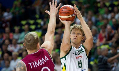 Lietuviai pralaimėjo draugiškas rungtynes latviams 80:97