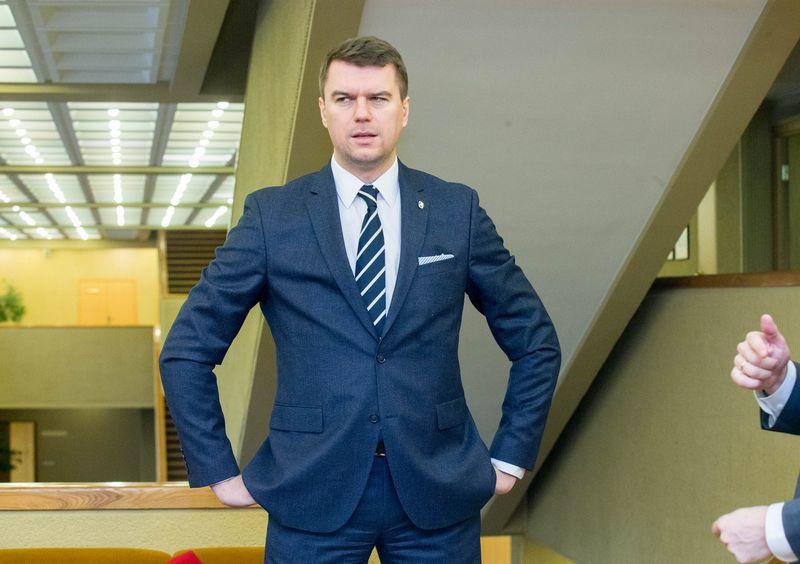 Lietuvos laisvosios rinkos instituto prezidentas Žilvinas Šilėnas. Juditos Grigelytės (VŽ) nuotr.