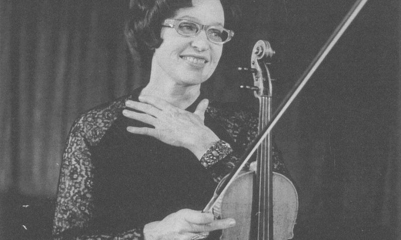"""K. Kalinauskaitė daug metų grojo antruoju smuiku legendiniame Lietuvos kvartete. """"Septynių meno dienų"""" archyvo nuotr."""