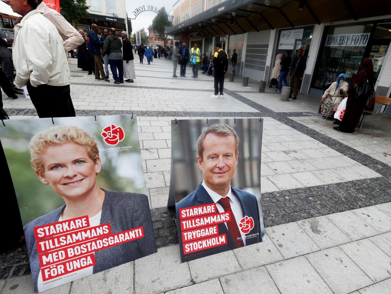 Švedijos rinkimai: kas trečia naujiena – suklastota