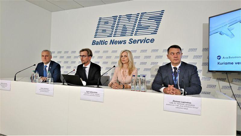"""""""Avia Solutions Group"""" konferencija. Lino Butkaus (VŽ) nuotr."""