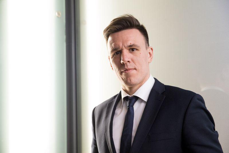 """Martynas Giga, """"Elektum Lietuva"""" direktorius. Juditos Grigelytės (VŽ) nuotr."""