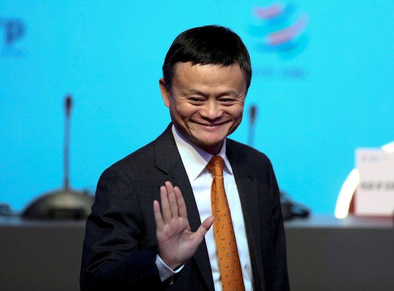 "Jackas Ma.Marcos Brindicci (""Reuters"" / ""Scanpix"") nuotr."
