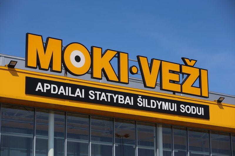 """""""Moki veži"""" parduotuvė Vilniuje, Pergalės gatvėje. Vladimiro Ivanovo (VŽ) nuotr."""