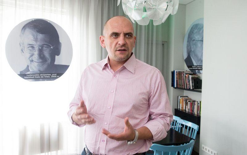 """Sergejus Nosokas, UAB """"Enigma Software Group Lt"""" direktorius. Juditos Grigelytės (VŽ) nuotr."""
