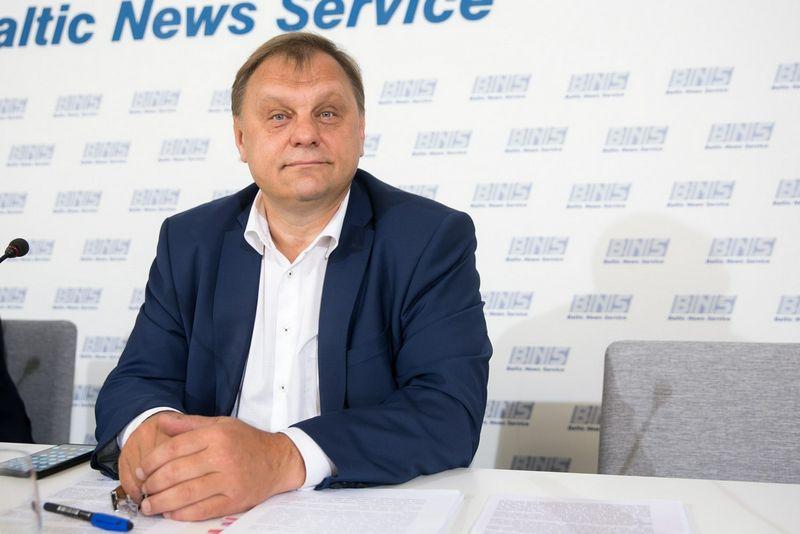 Lietuvos verslo konfederacijos prezidentas Valdas Sutkus. Ž. Gedvilos (15min.) nuotr.