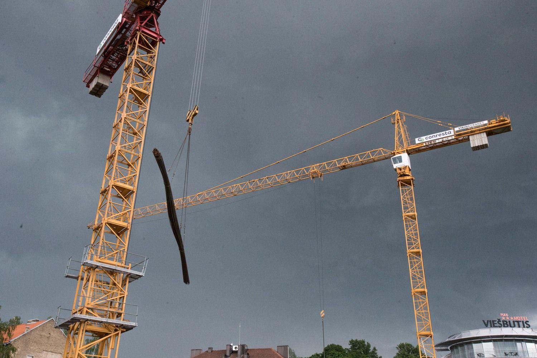 VMI dėmesio sulaukusių statybininkų pajamos išaugo 34 mln. Eur
