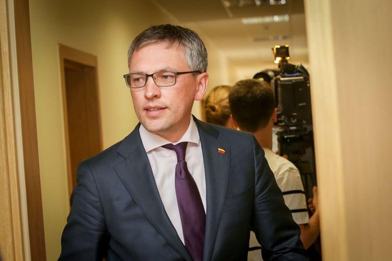 NSGK pirmininkas Vytautas Bakas. Juditos Grigelytės (VŽ) nuotr.