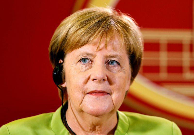 "Vokietijos kanclerė Angela Merkel. Ogneni Teofilovskio (""Reuters"" / ""Scanpix"") nuotr."