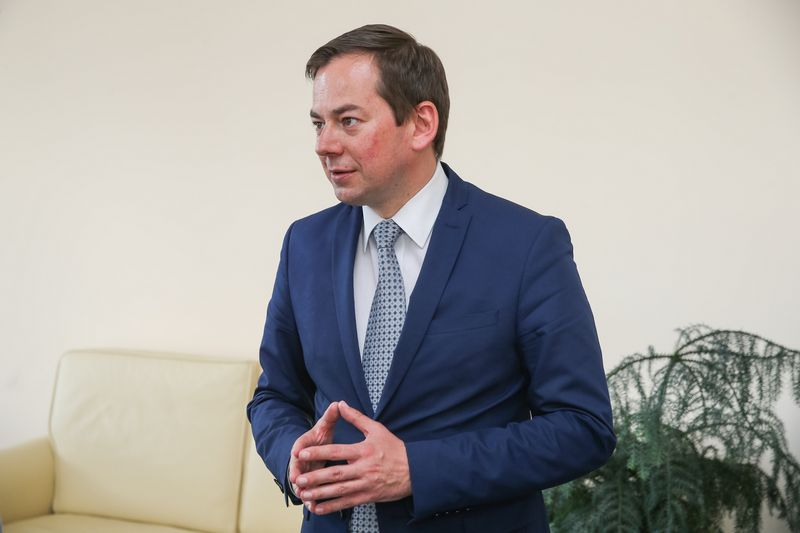 Arnoldas Pranckevičius, Europos Komisijos atstovybės Lietuvoje vadovas. Vladimiro Ivanovo (VŽ) nuotr.