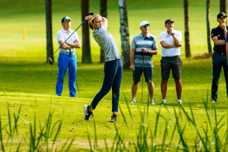 """Gilė Bitė Starkutė. """"West Express"""" golfo turnyro rengėjų nuotr."""
