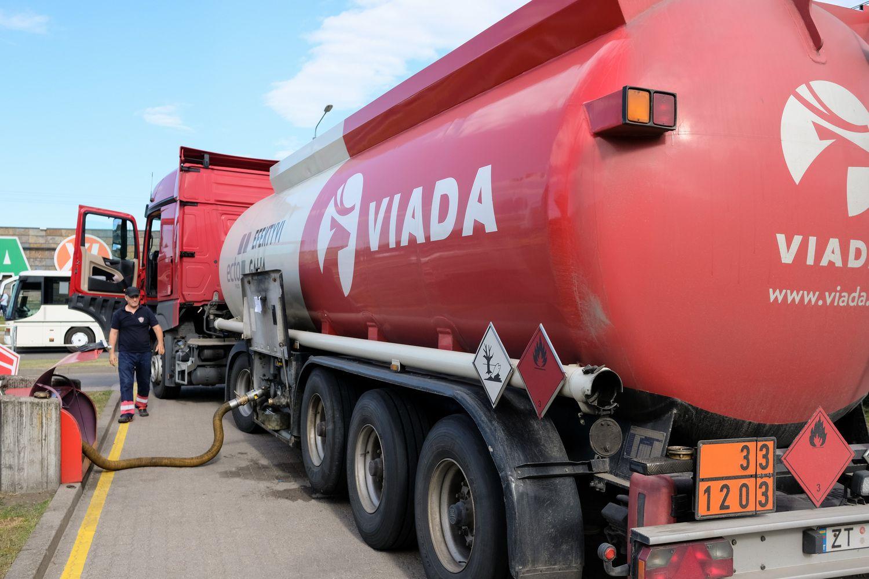 """""""Linava"""" po 6 metų pakeitė degalų tiekėjus"""