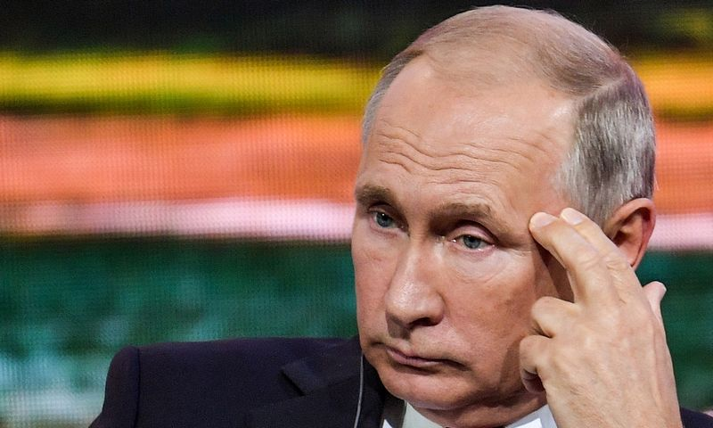 """Rusijos prezidentas Vladimiras Putinas. Donato Sorokino (""""Reuters"""" / """"Scanpix"""") nuotr."""