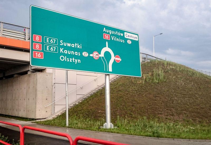 Lenkijos keliai. Juditos Grigelytės (VŽ) nuotr.